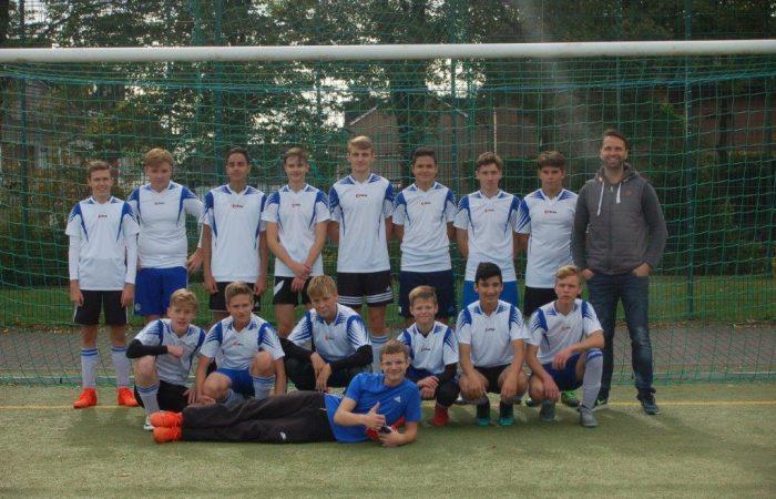 Fußballteam WK II Jungen für Endrunde qualifiziert